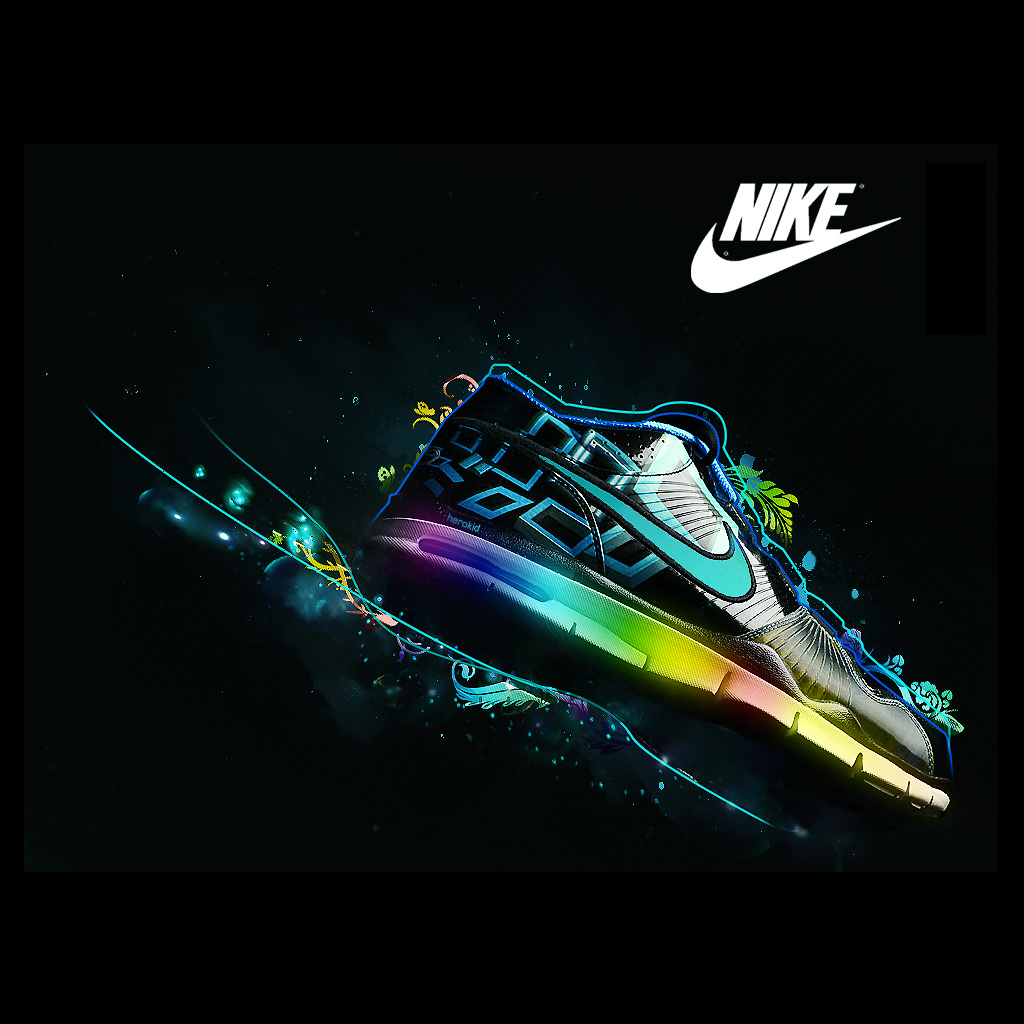 Nike Shoe iPad Wallpaper