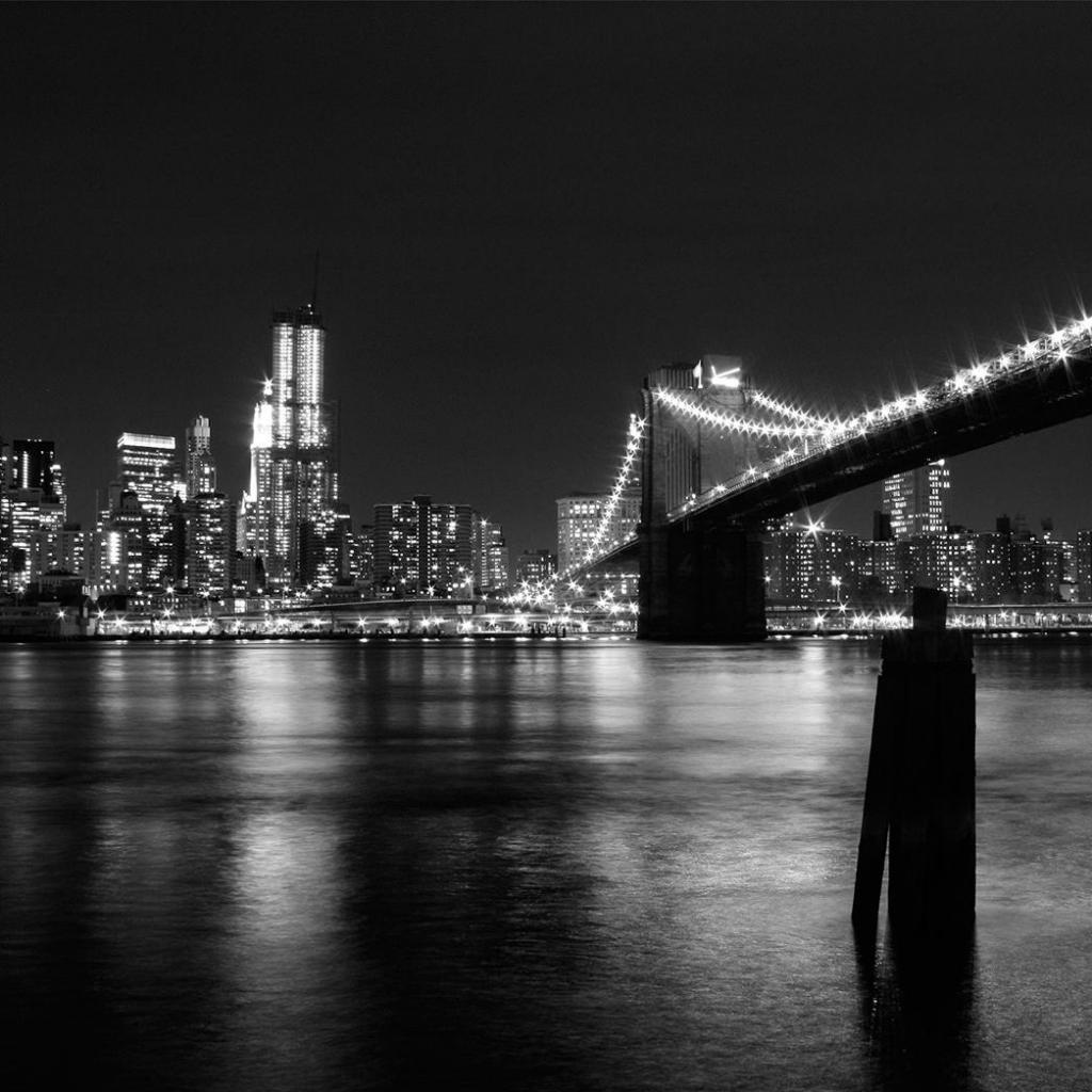 New york city bridge ipad wallpaper