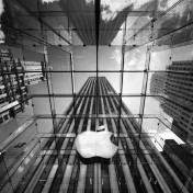 NYC Apple Store iPad Wallpaper