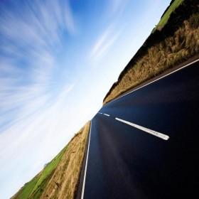 Open Road iPad Wallpaper