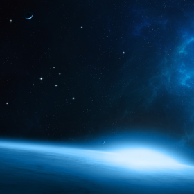 Outter Space iPad Wallpaper