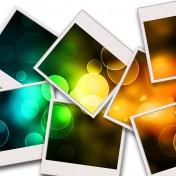 Polaroid Collage iPad Wallpaper
