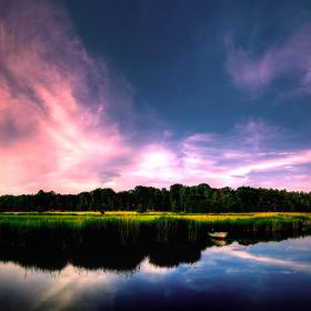 Pretty Sky iPad Wallpaper