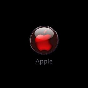 Red Apple iPad Wallpaper