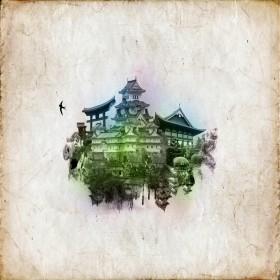 Reflective City iPad Wallpaper