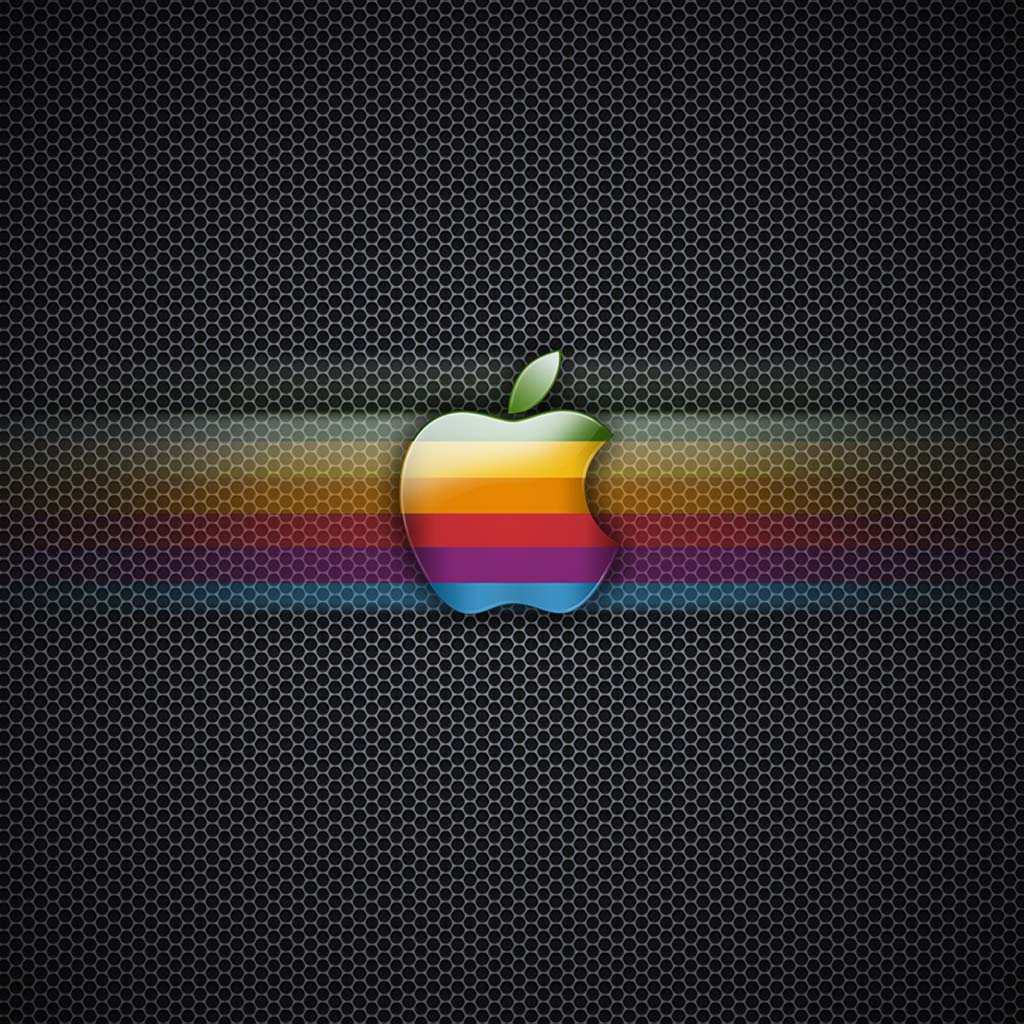 retro apple logo ipad wallpaper | ipadflava