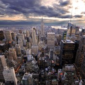 Rockefeller New York City iPad Wallpaper