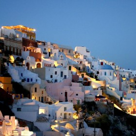 Santorini Greece iPad Wallpaper