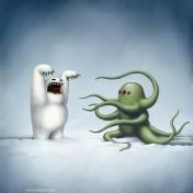 Scare Tacticts iPad Wallpaper