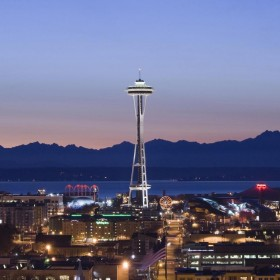 Seattle Space Needle iPad Wallpaper