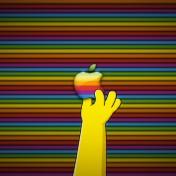 Homer Simpson Apple Logo iPad Wallpaper