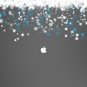 snowy-apple-logo