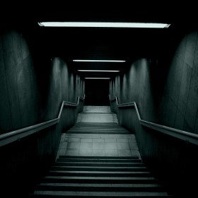 Stairway to Hell iPad Wallpaper