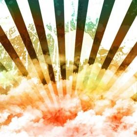Sunburst iPad Wallpaper