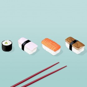 Suahi Dinner iPad Wallpaper