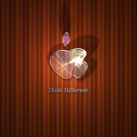 Think Different Stripes iPad Wallpaper