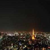 Tokyo Night iPad Wallpaper