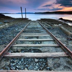Train to Nowhere iPad Wallpaper