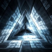 Triangle Mind Warp iPad Wallpaper