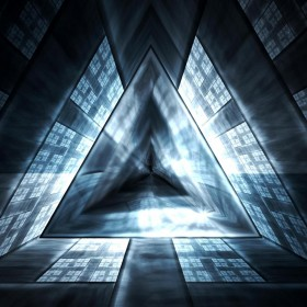 Triangle Mind Warp iPad Wallpaper