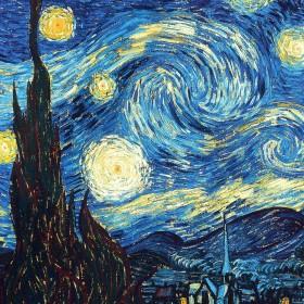 Starry Night iPad Wallpaper