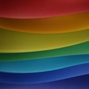 Waivy Colors iPad Wallpaper