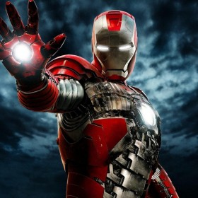 Iron Man 2 iPad Wallpaper