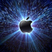 Warp Speed Apple iPad Wallpaper
