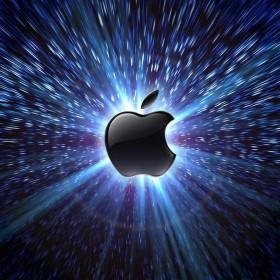 Warp Speed Apple iPad Wallpaper