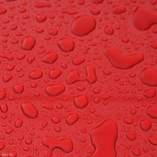 Red Water Drops iPad Wallpaper