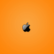 Yellow Apple iPad Wallpaper