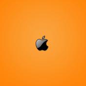 Yellow Apple iPad Wallpaper